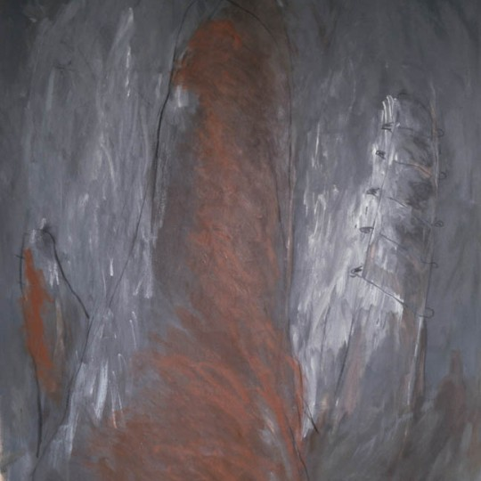 Oleo sobre tela 182 x 150  cm